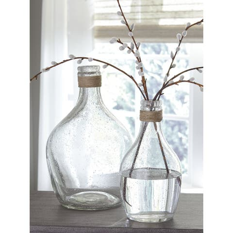 Marcin Modern Farmhouse Vase - Set of 2