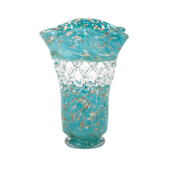 IMAX Home 65435 Ithaca Web Glass Vase