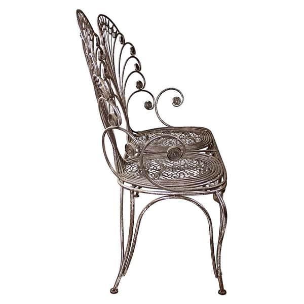 Astonishing Shop Design Toscano Grand Peacock Metal Garden Loveseat Andrewgaddart Wooden Chair Designs For Living Room Andrewgaddartcom