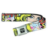 Supergirl Seatbelt Belt-Holds Pants Up