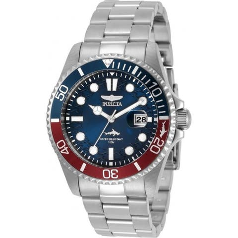 Invicta Men's 30951 'Pro Diver' Stainless Steel Watch - Blue