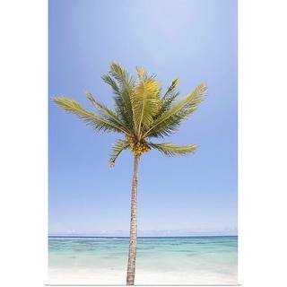 """Palm tree"" Poster Print"
