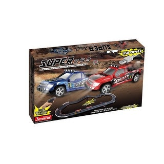 Link to JOYSWAY Super 253 USB Power Slot Car Racing set Similar Items in Toy Vehicles