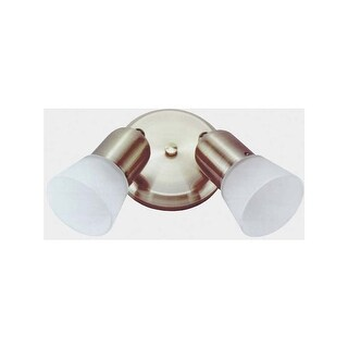 "Canarm ICW5201 Omni 2 Light 5-1/8"" Wide Wall Sconce"