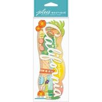 Jolee's Boutique Title Waves Dimensional Stickers-California