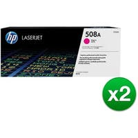 HP 508A Magenta Original LaserJet Toner Cartridge (CF363A)(2-Pack)