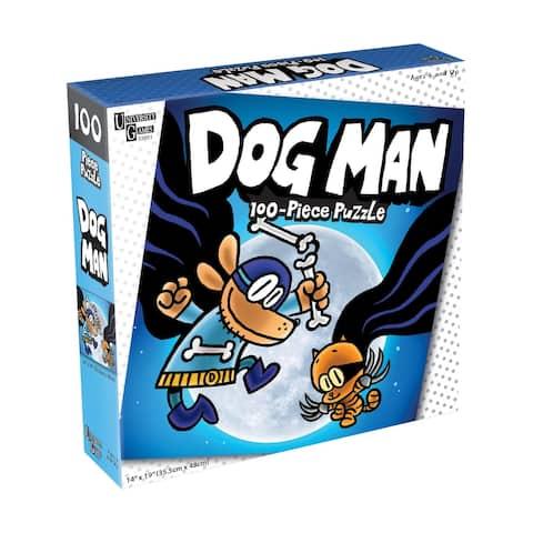 Dog Man and Cat Kid Jigsaw Puzzle - 100 Pcs