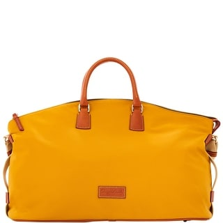 Dooney & Bourke Nylon Weekender (Introduced by Dooney & Bourke at $298 in Sep 2016) - Gold