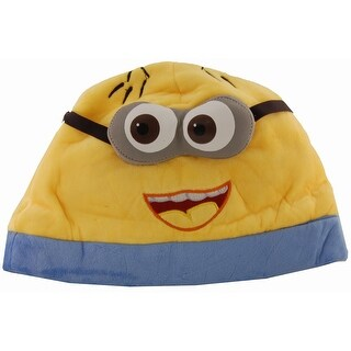 Despicable Me 2 Eyed Open Mouth Minion Jorge Adult Beanie