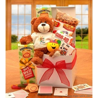 Link to A Touch of Get Well Soon Sunshine Care Package Similar Items in Gourmet Food Baskets
