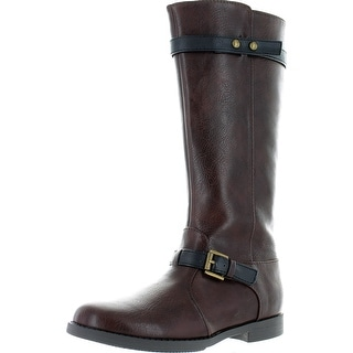 Kenneth Cole Reaction Kennedy Rider Boots - Brown - 13 m us little kid