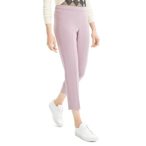 Theory Womens Ankle Pants Crepe Dressy