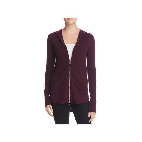 ATM Womens Hoodie Wool Cashmere - XS