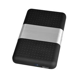 SIIG Accessory JU-SA0T12-S1 USB 3.1 to SATA Hard Drive Enclosure 2.5 inch Retail