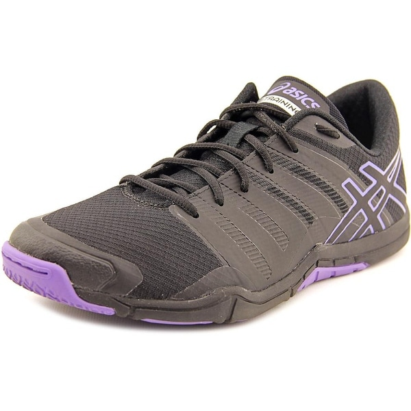 Asics Met-Conviction Women  Round Toe Synthetic Black Running Shoe