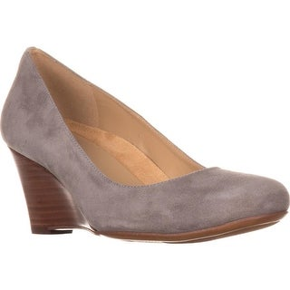 naturalizer Emily Classic Wedge Pumps, Grey