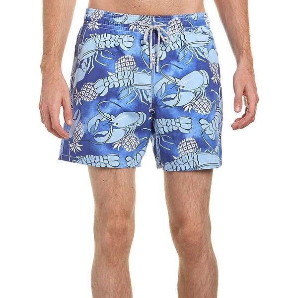 172d364a91afb Shop Vilebrequin Men's Moorea Classic Swim Trunks Shorts Large Chicoree 6