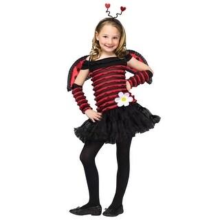 Lady Bug Costume Children's 8-10 - 6.0 in. x 8.0 in. x 6.0 in.