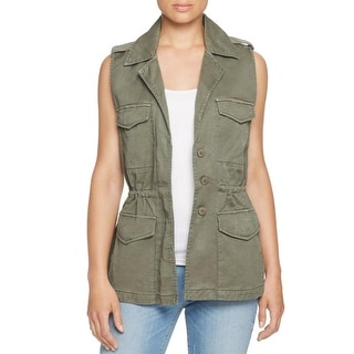 Sanctuary Womens Gigi Casual Vest Utility Sleeveless