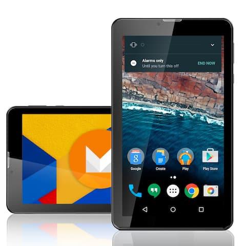 "Indigi® Quad-Core 7.0"" HD Android 6.0 TabletPC w/ Bluetooth Sync + Dual Camera + WiFi + Expansion Slot + Google Play"