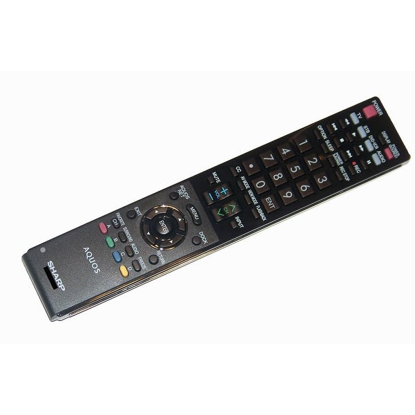 OEM Sharp Remote Control Specifically For: LC46LE810UN, LC-46LE810UN, LC46LE820UN, LC-46LE820UN, LC52LE810U