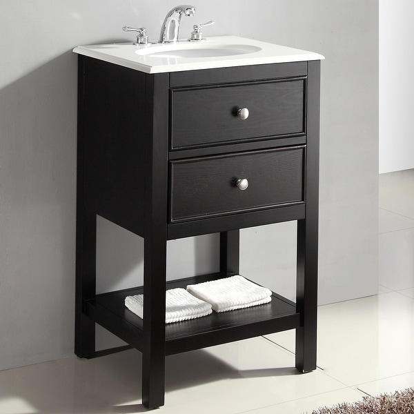 Shop WYNDENHALL Fairfield 20 inch Contemporary Bath Vanity ...