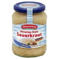 Hengstenberg Sauerkraut - Bavarian Style - Case of 12 - 24.3 oz.