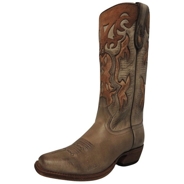 Macie Bean Western Boots Womens Cowboy Quick Sandy Loam
