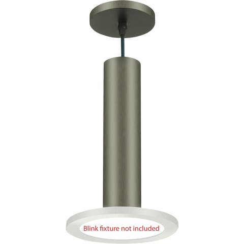 "Nuvo Lighting 62/1305 BLINK Slim 7"" Pendant Conversion Kit - - Brushed Nickel"