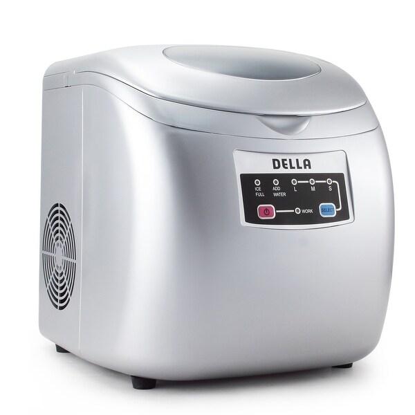 Shop Della Portable Ice Maker Easy Touch Buttons 26lb Per