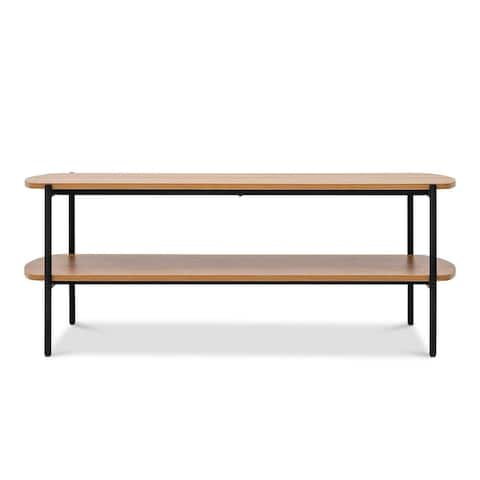 "Querencia 47""x17"" Rectangular Coffee Table with Storage for Living Room - 47"" x 17"""