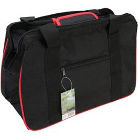"18""X10""X12"" Black & Red - Janetbasket Eco Bag"