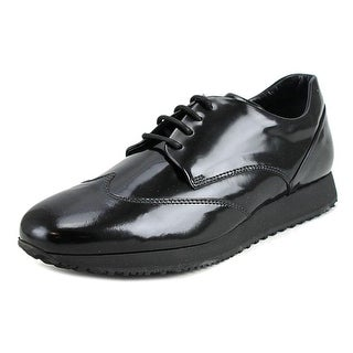 Hogan H221 B-Dress Derby Liscio Round Toe Leather Oxford