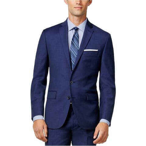 Ryan Seacrest Mens Modern Fit Two Button Blazer Jacket