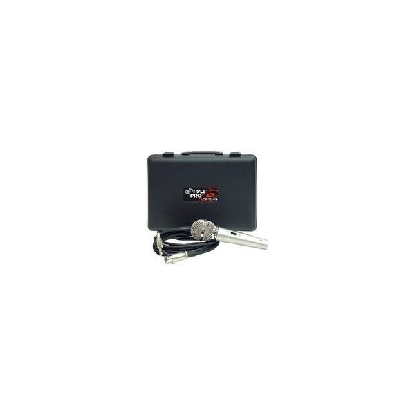 Pyle Audio PDMIK-4 Pyle PDMIK4 Dynamic Microphone - Dynamic - 50Hz to 15kHz - Cable
