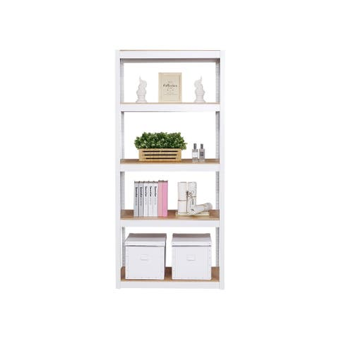 Aurora Home 4Shelf Customizable Modular Shelving and Storage