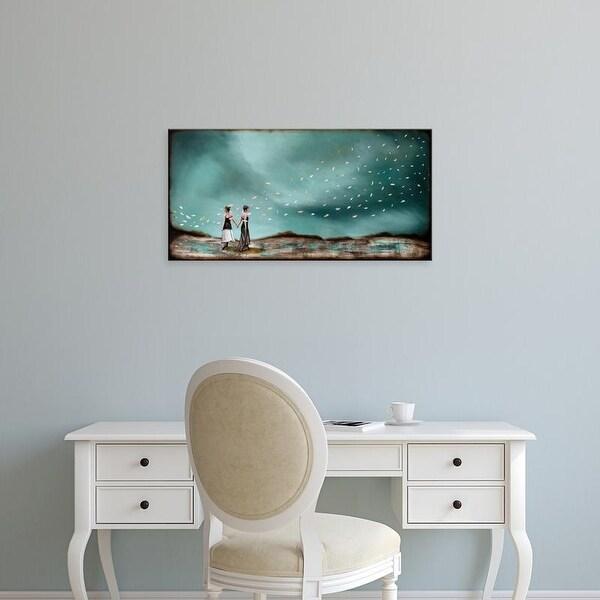 Easy Art Prints Alicia Armstrong's 'Optional Illusions I' Premium Canvas Art