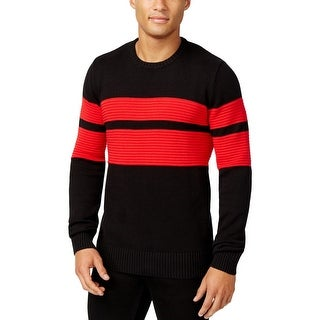 Sean John Mens Big & Tall Pullover Sweater Colorblock Ribbed