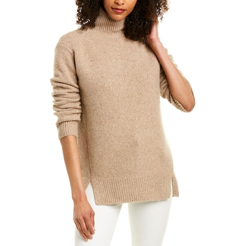 Vince Double Slit Cashmere Sweater