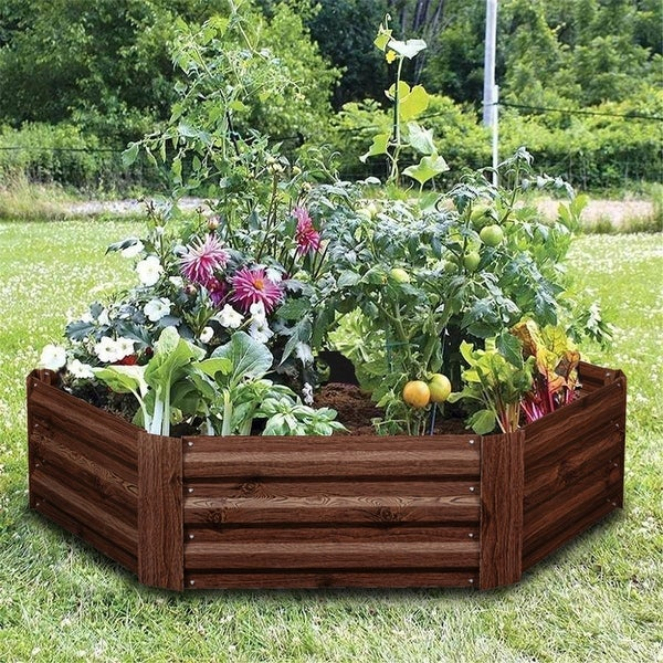 Ainfox Raised Metal Garden Bed,Corrugated Steel Planter. Opens flyout.
