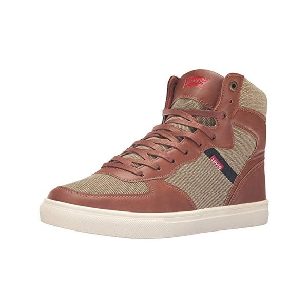 Levi's Mens Jeffrey Hi Hemp High Top Sneakers Casual Fashion