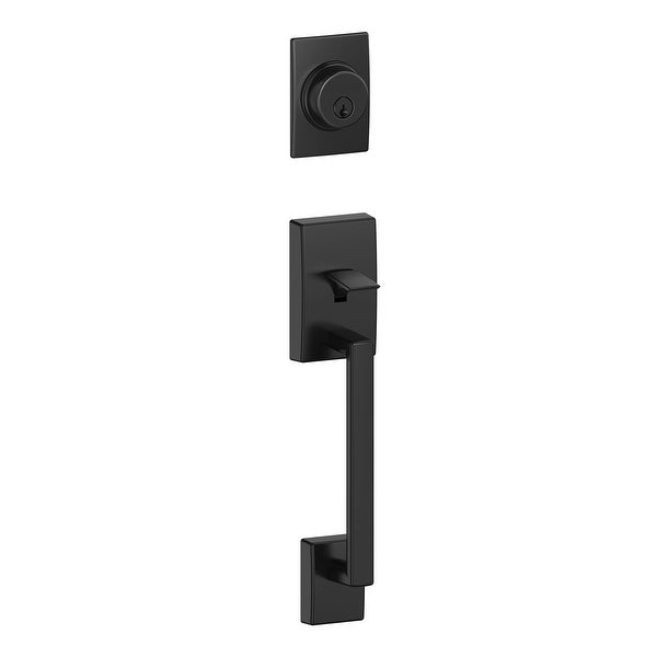 Schlage F92-CEN Century Exterior One-Sided Dummy Handleset - Interior Side Sold Separately