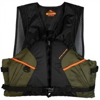 Stearns 2000013803 Comfort Series Fishing Vest, Extra Large, Green/Orange