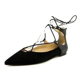Sam Edelman Rosie Women  Pointed Toe Suede Black Flats