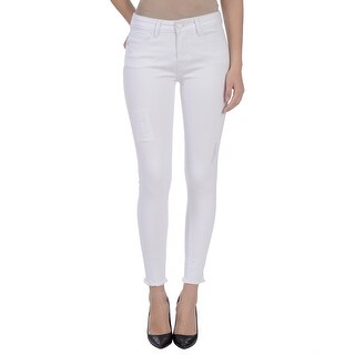 Lola Jeans Orchid-DWHT, Mid-rise ankle