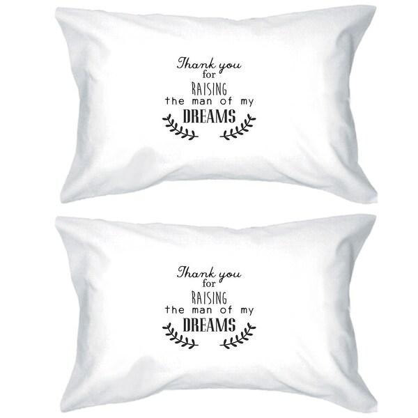 Raising My Man Unique Cotton Pillowcases Queen Size Cute