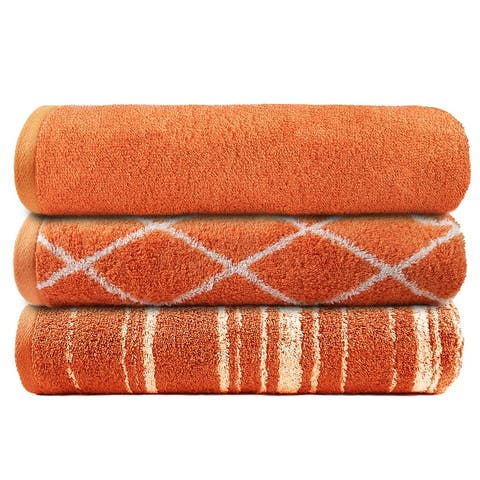 TRIDENT Play Gym Organic Cotton Towel Set 450 GSM Perfect for Sports