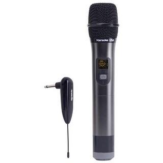 Karaoke USA WM900 900 MHz UHF Wireless Microphone