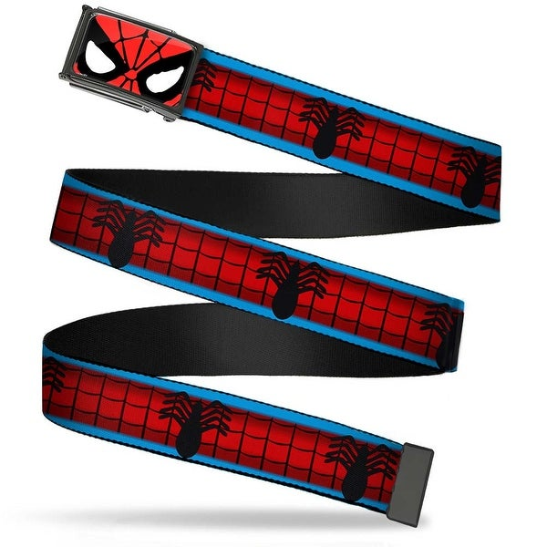 Marvel Universe Spider Man Face Close Up Fcg Chrome Spider Man Costume Web Belt