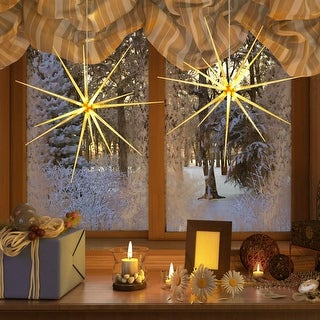 Link to Christmas 2 Pack LED Firework Fairy String Lights Similar Items in Christmas Decorations